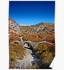 Kalogeriko bridge, Zagori Poster
