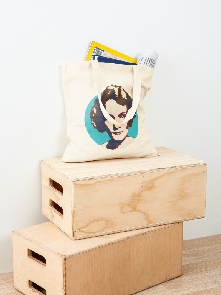 Alternate view of Marlene Dietrich Tote Bag