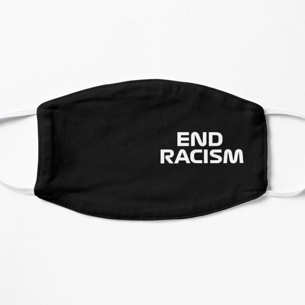 Masque facial End Racism F1 Masque sans plis