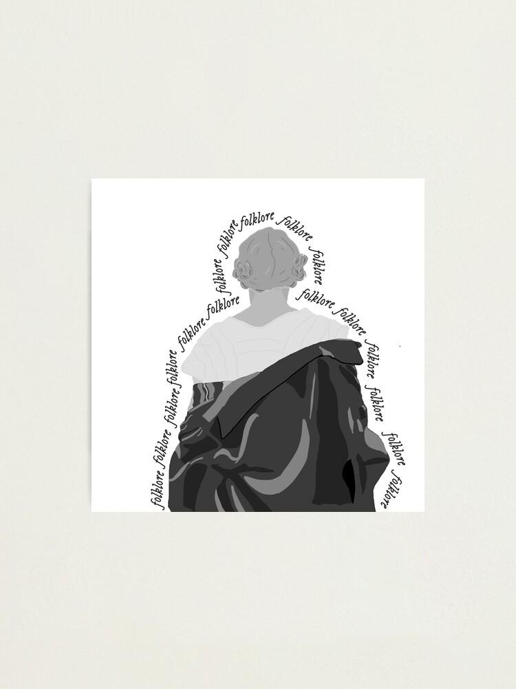 Folklore Album Taylor Swift Lyrics Era Aesthetic Photographic Print By Thefirstmayday Redbubble