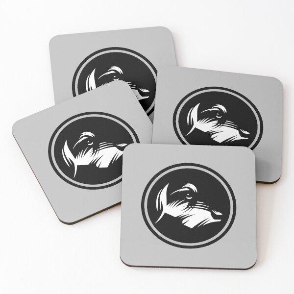 Wired-hair Dachshund Dog Coasters (Set of 4)