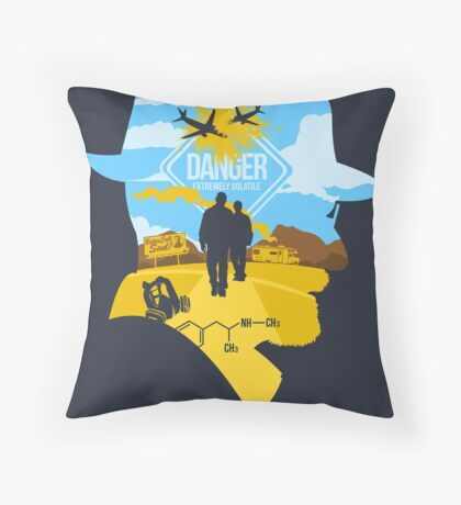 Extremely Volatile Throw Pillow