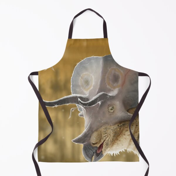 Old Triceratops Apron