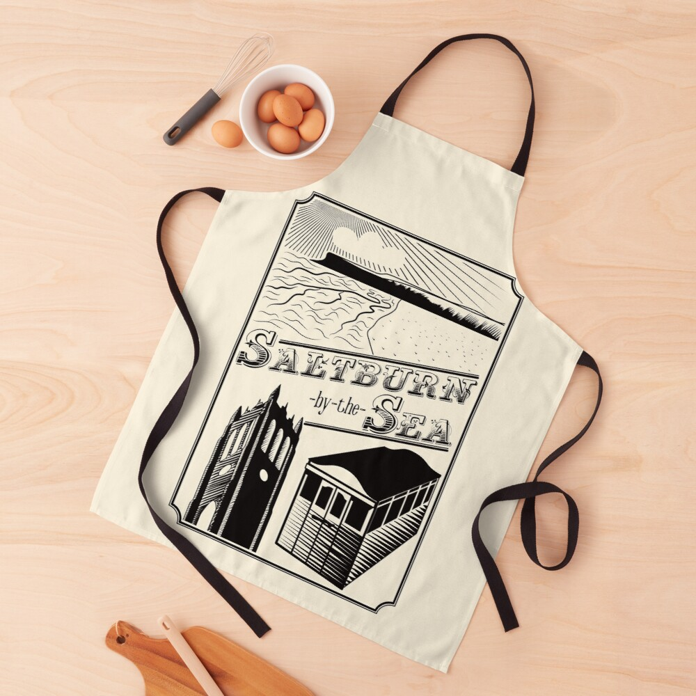 NDVH Saltburn-by-the-Sea stamp Apron