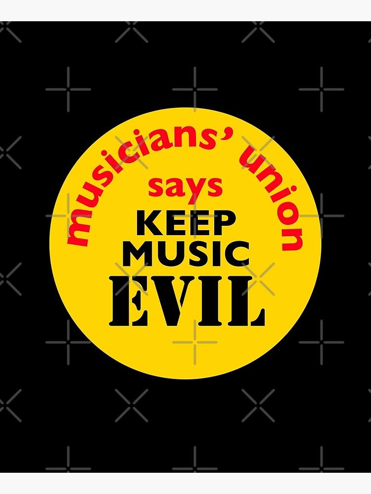 NDVH Keep Music Evil by nikhorne