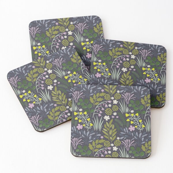 Purple valley Coasters (Set of 4)