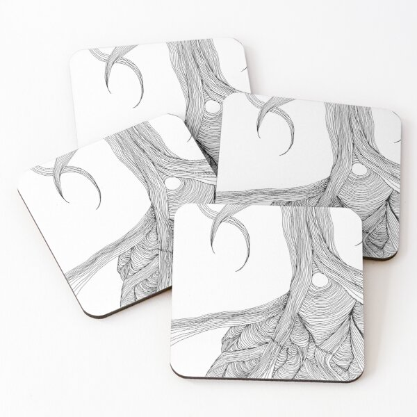 Rooted Coasters (Set of 4)