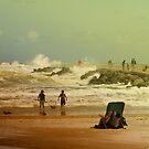 Crash of the Waves by Deborah  Benoit