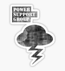 Misfits Power Support Group Shirt  Sticker