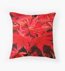 Autumn leaves. Throw Pillow
