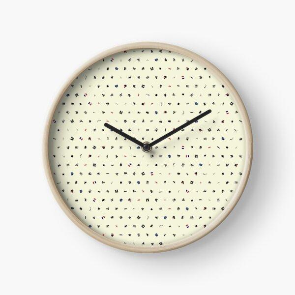 Symbols of France (Beige) Clock