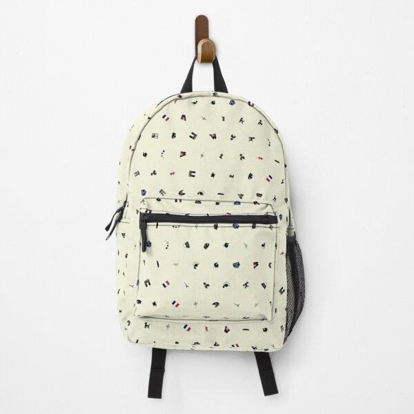 Symbols of France (Beige) Backpack