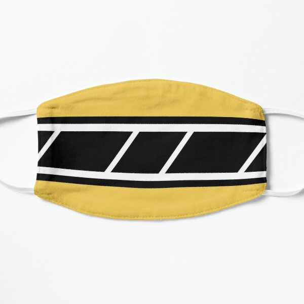 Retro Speedblock Yellow Flat Mask