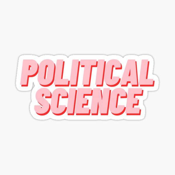 Political Science Sticker