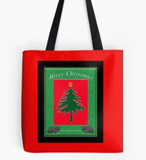 Merry Christmas God Bless You Tote Bag