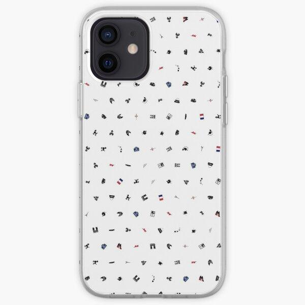 Symbols of France (No Background) iPhone Soft Case