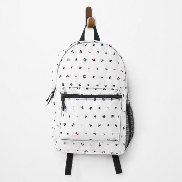 Symbols of France (No Background) Backpack