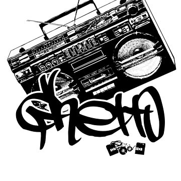 Ghetto Blaster  by raneman