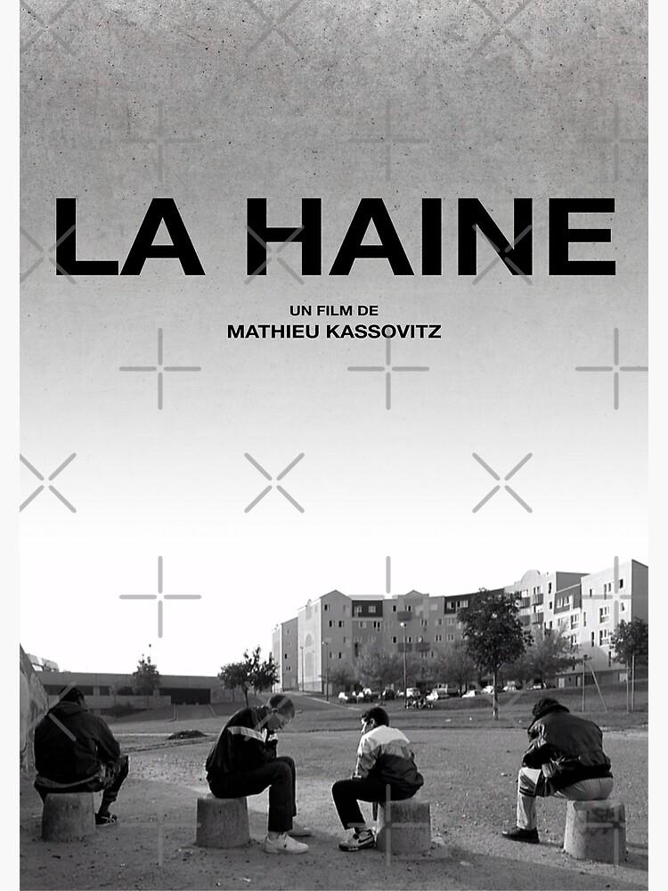 La Haine Poster Film Movie by bluebird-king