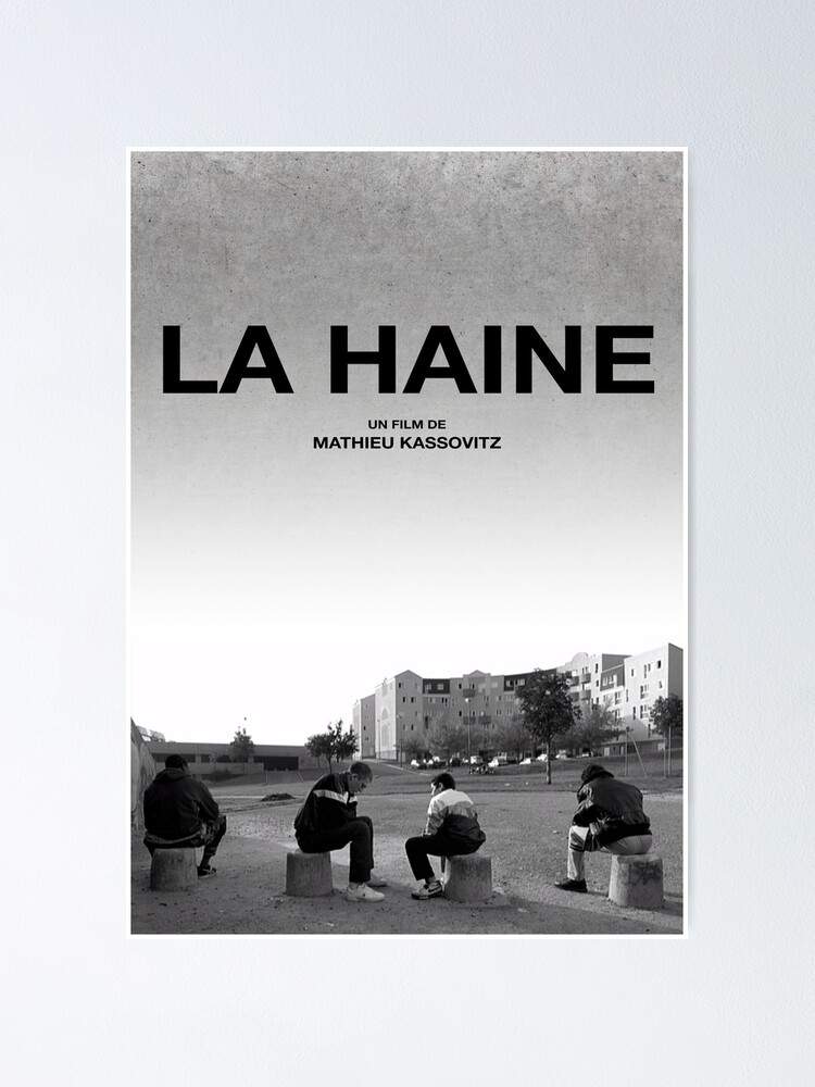 Alternate view of La Haine Poster Film Movie Poster