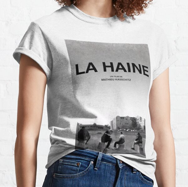 La Haine Poster Film Movie T-shirt classique
