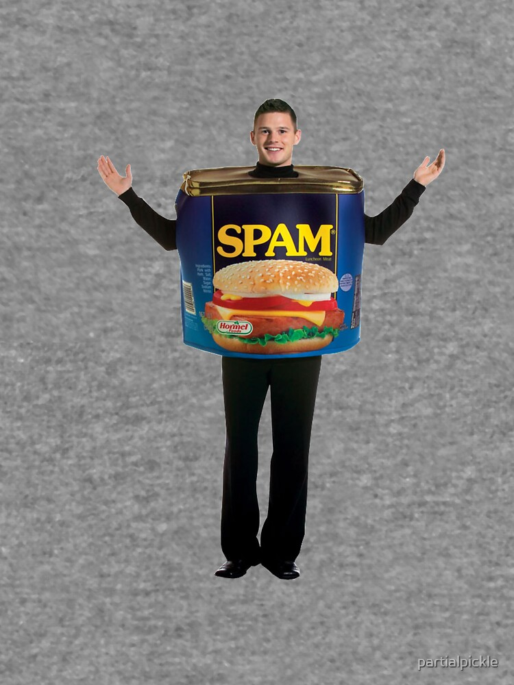 Spam Costume by partialpickle