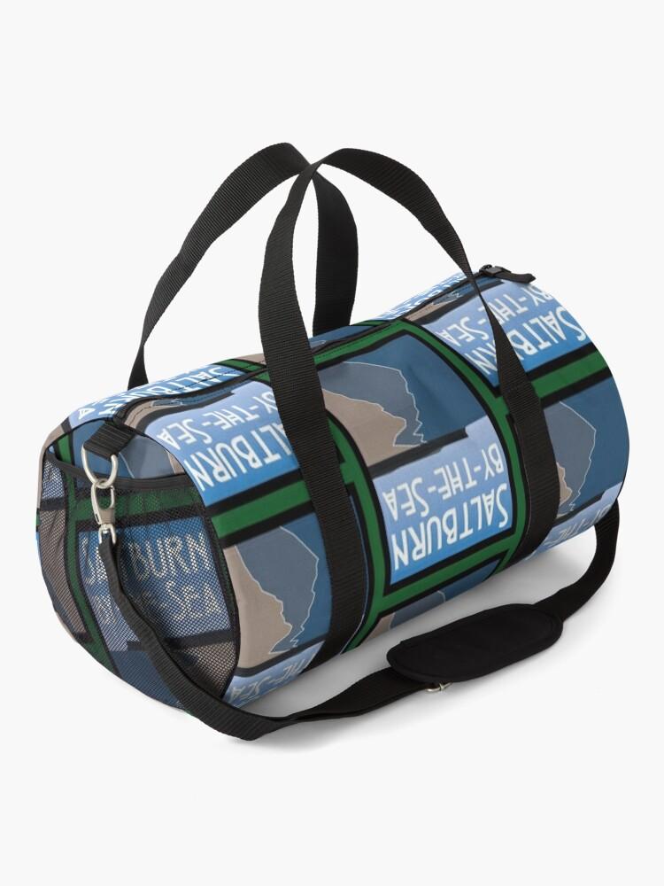 Alternate view of NDVH Saltburn Beach - Art Deco Duffle Bag