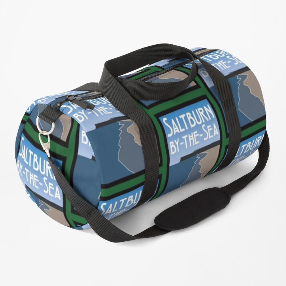 NDVH Saltburn Beach - Art Deco Duffle Bag