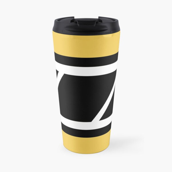 Retro Speedblock yellow Travel Mug