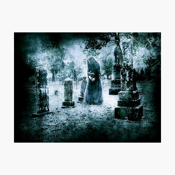 Tombstone Offering Photographic Print