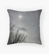 A Dismal Day Throw Pillow