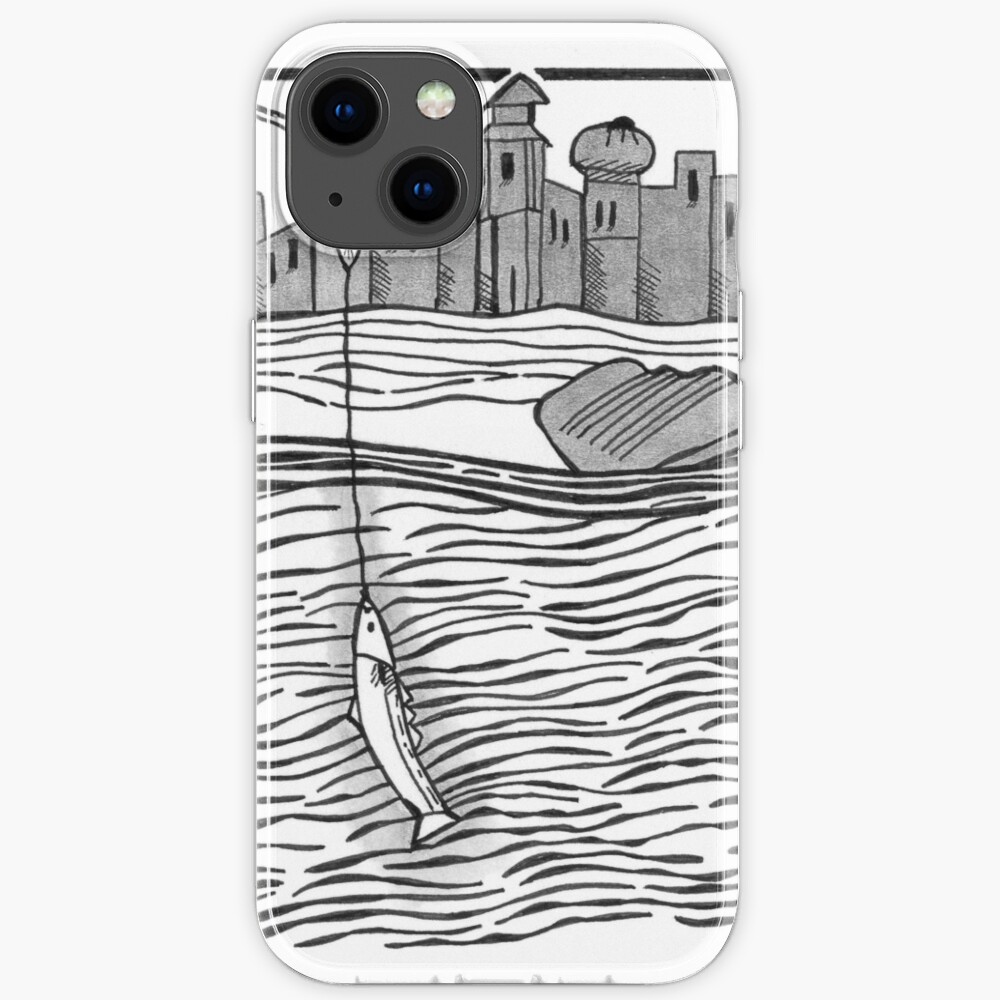 Fourteenth-Century Fishing iPhone Case