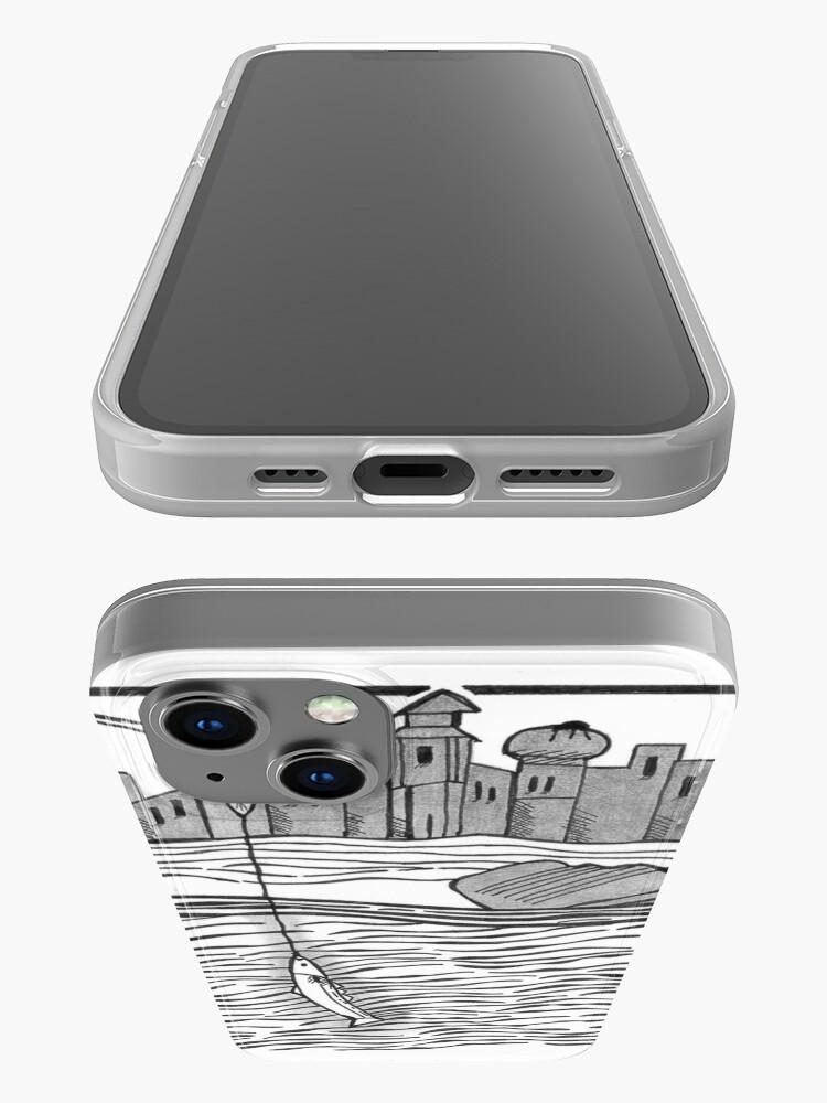 Alternate view of Fourteenth-Century Fishing iPhone Case