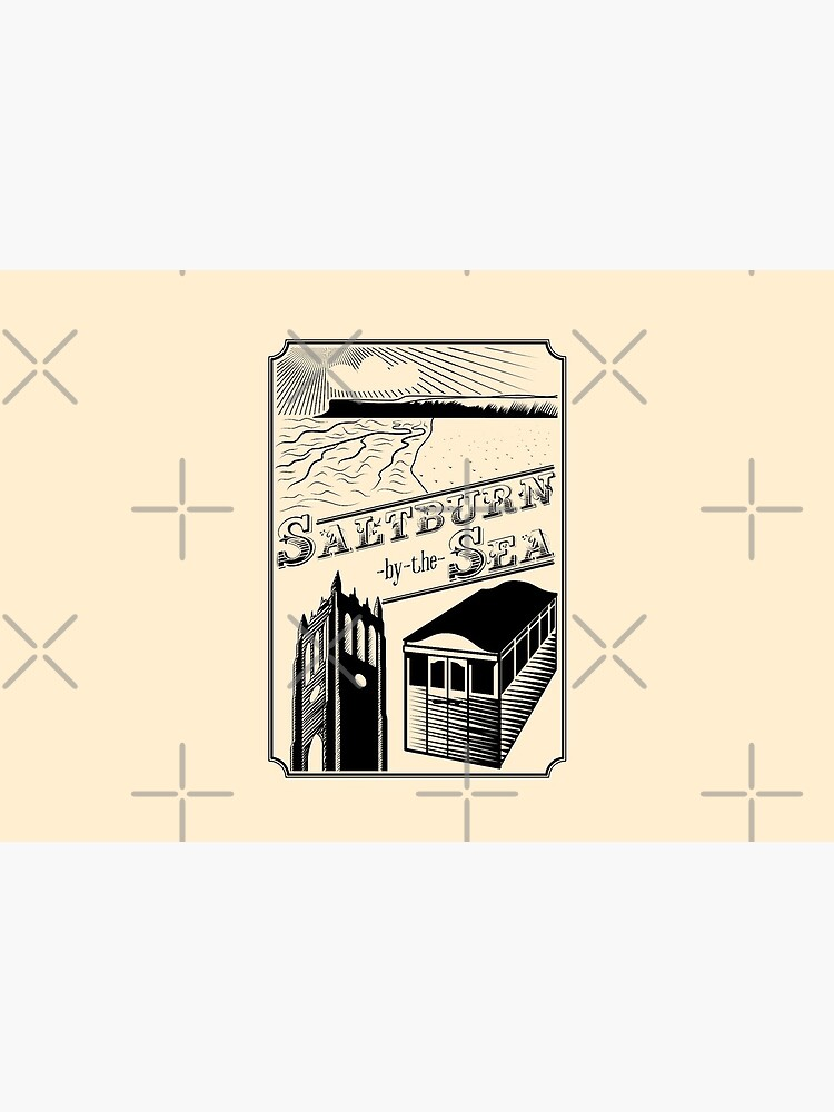 NDVH Saltburn-by-the-Sea stamp by nikhorne