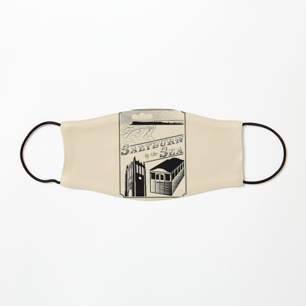 NDVH Saltburn-by-the-Sea stamp Mask