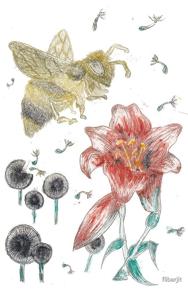 Bee Happy by fliberjit