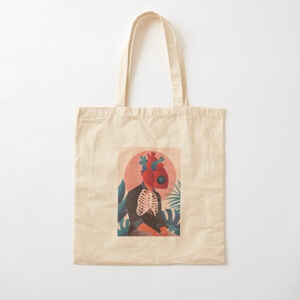 Magic Heart Cotton Tote Bag