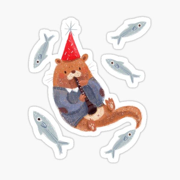 My Otter Half Sticker