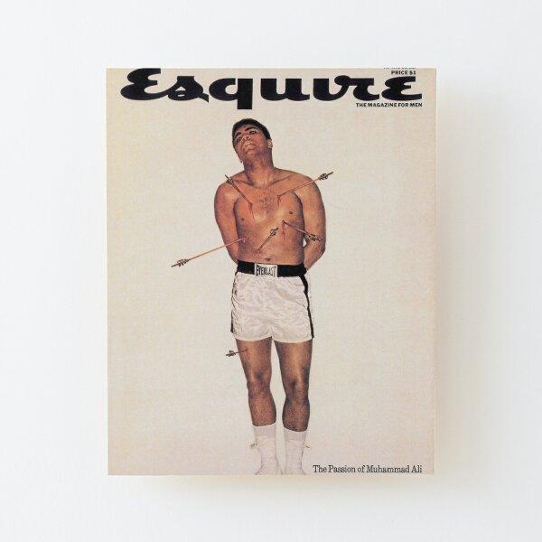 Esquire - Muhammad Ali 1968 Impression montée sur bois
