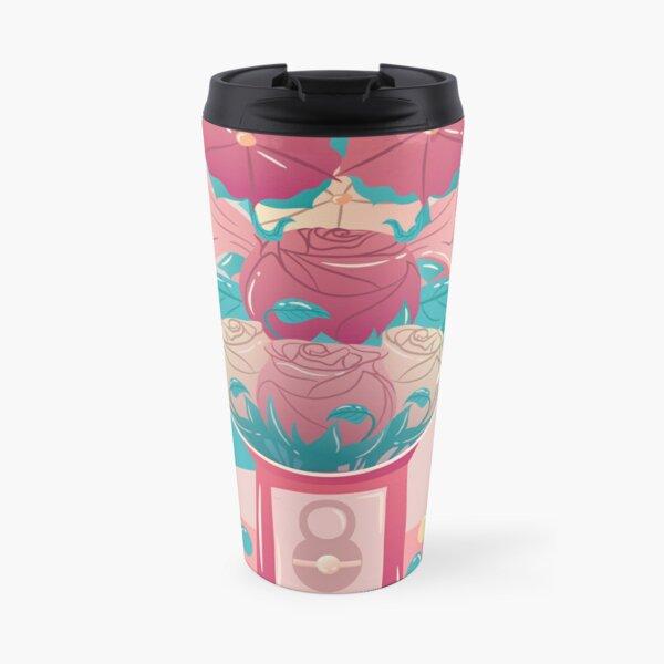 Bubblegum Bouquet Travel Mug