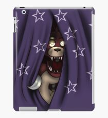 Peeking Foxy (with curtain stars) iPad Case/Skin