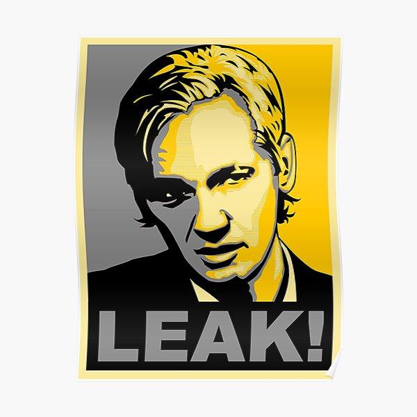 Julian Assange Leak  Poster