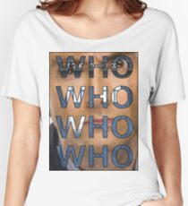 Descending Doctor Who Women's Relaxed Fit T-Shirt