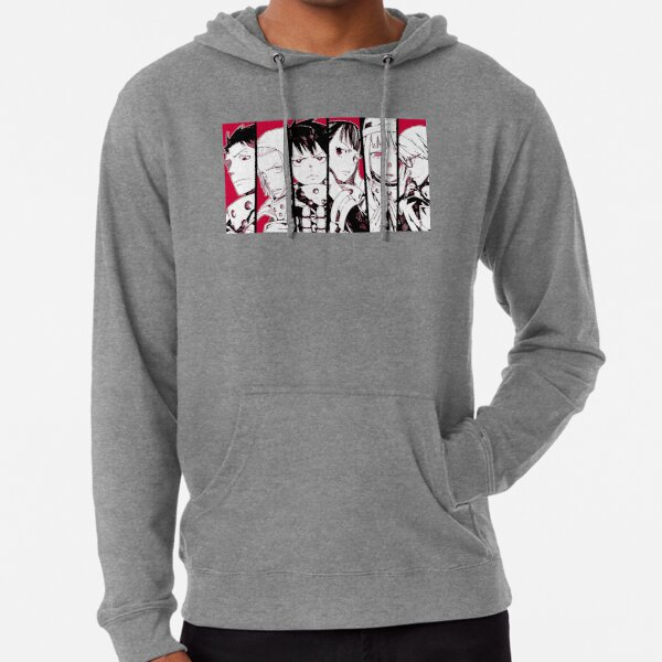 Special Fire force company 8 Lightweight Hoodie