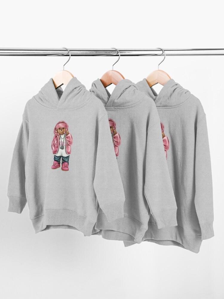 Alternate view of Cam'Ron Shirt Cam'ron, facemask, airbrush dipset Killa Cam Tshirt Cam'ron Pink Fur Fan Art & Gear Toddler Pullover Hoodie