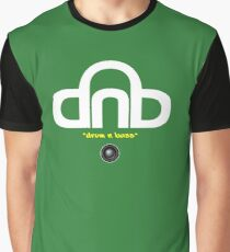 DNB (Drum N Bass) V2 Graphic T-Shirt