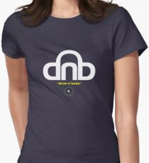 DNB (Drum N Bass) V2 Womens Fitted T-Shirt