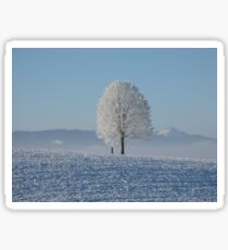 Frozen Tree Sticker