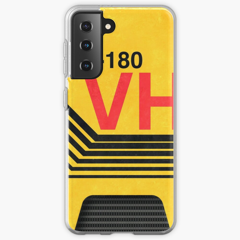 vhs blank cover art Case & Skin for Samsung Galaxy