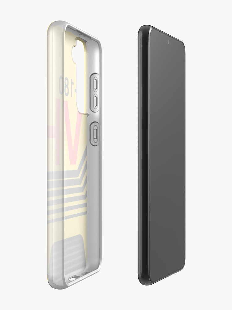 Alternate view of vhs blank cover art Case & Skin for Samsung Galaxy
